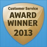 Customer Service Award Winner 2013 - Carisbrook Manchester