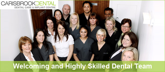 Book your dental appointment today - Carisbrook Dental Manchester