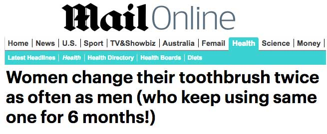 Daily Mail - Local Dentist